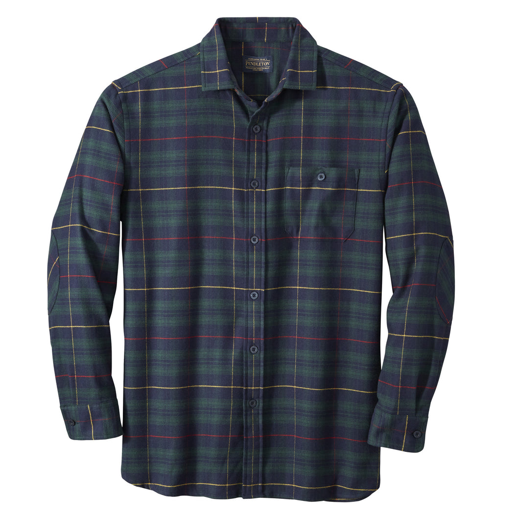 Cascade Shirt - Green/Navy/Red Plaid