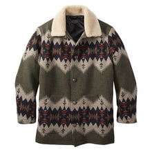 Brownsville Shearling Collar Coat - Sonora