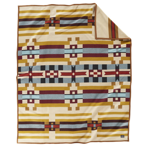 PRE ORDER Jacquard Blanket - Saddle Mountain