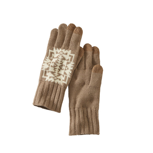 Knit Gloves - Chief Joseph Khaki