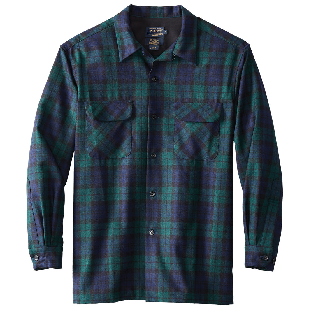 PRE ORDER Board Shirt - Black Watch Tartan