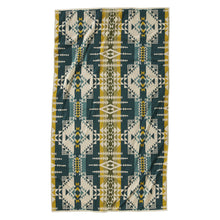 Jacquard Beach Towel - Pilot Rock Olive