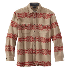 Driftwood Shirt - Tan/Red