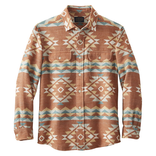 Beach Shack Shirt - Terracotta