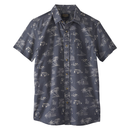 Shoreline Shirt - Navy