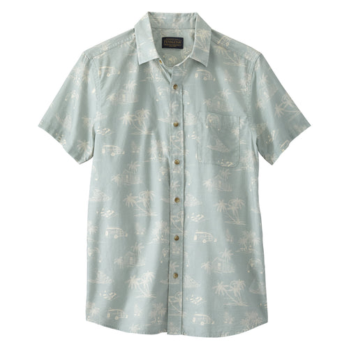 Shoreline Shirt - Lagoon