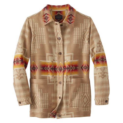 Jacquard Barn Jacket - Chief Joseph Tan