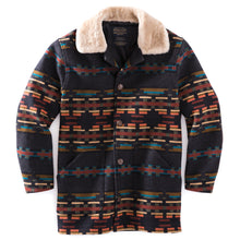 Pendleton Brownsville Shearling Collar Coat - Sunset River