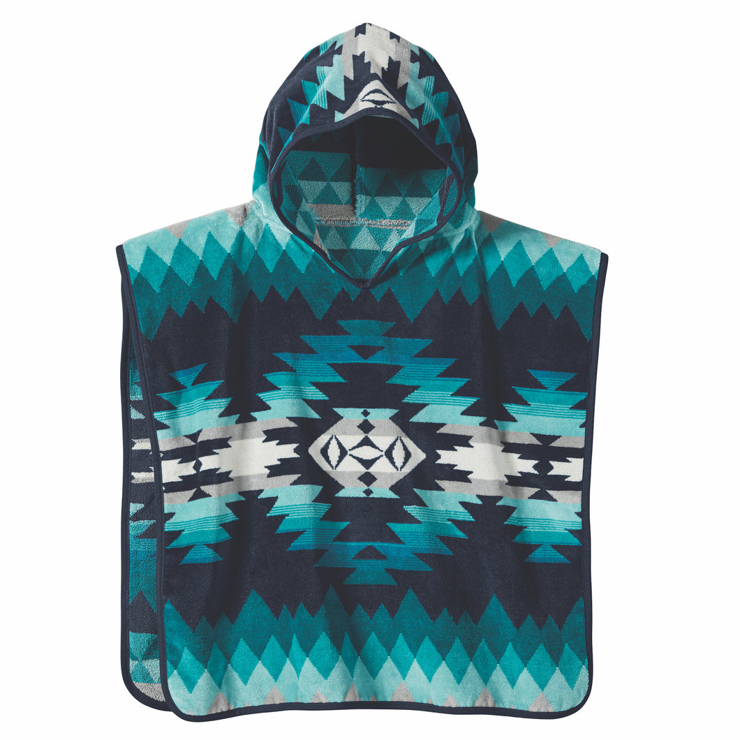 Kids Jacquard Hooded Towel - Papago Park