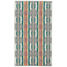 Pendleton Chief Joseph Oversized Jacquard Towel - Grey