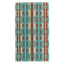 Pendleton Chief Joseph Oversized Jacquard Towel - Aqua