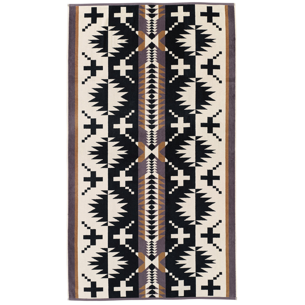 Pendleton Oversized Jacquard Towel - Spider Rock
