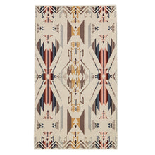 Jacquard Beach Towel - White Sands