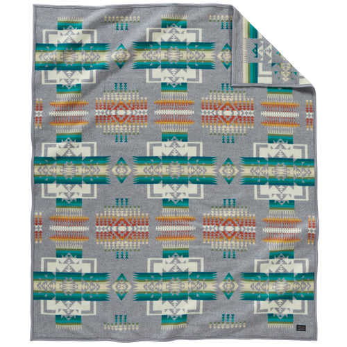 Chief Joseph Blanket - Grey