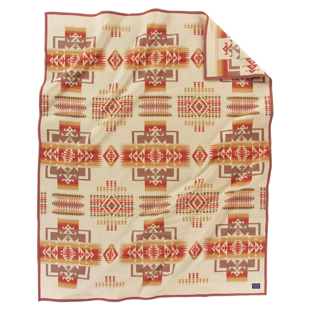 Chief Joseph Blanket - Cream