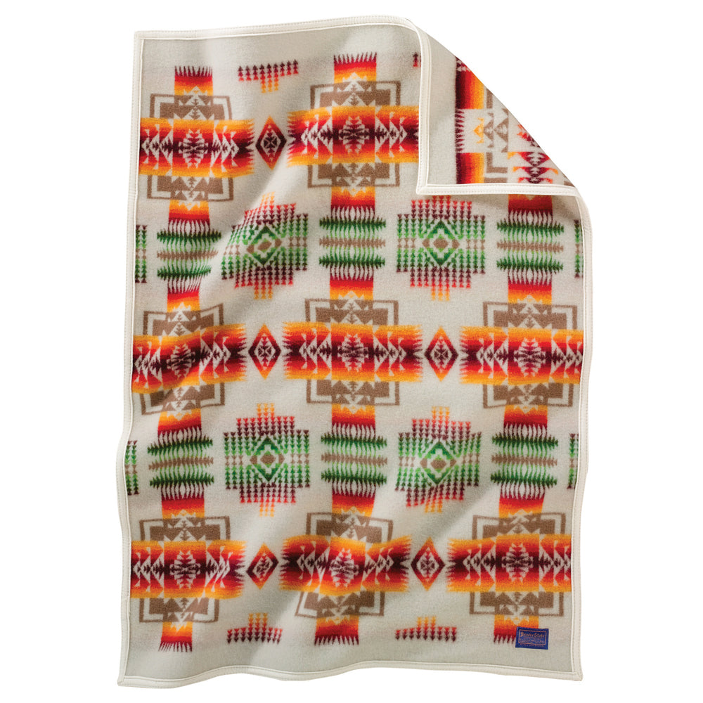 PRE ORDER Chief Joseph Baby Blanket - Ivory