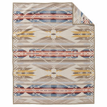 Jacquard Blanket - White Sands