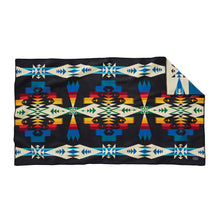 Tuscon Saddle Blanket - Black