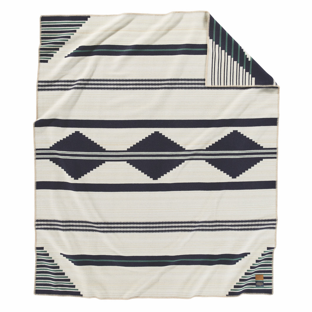 Jacquard Blanket - PS01 Early Navajo (Diné) Sarape