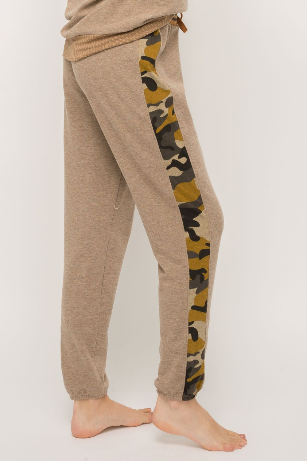 Camo Stripe Sweatpants