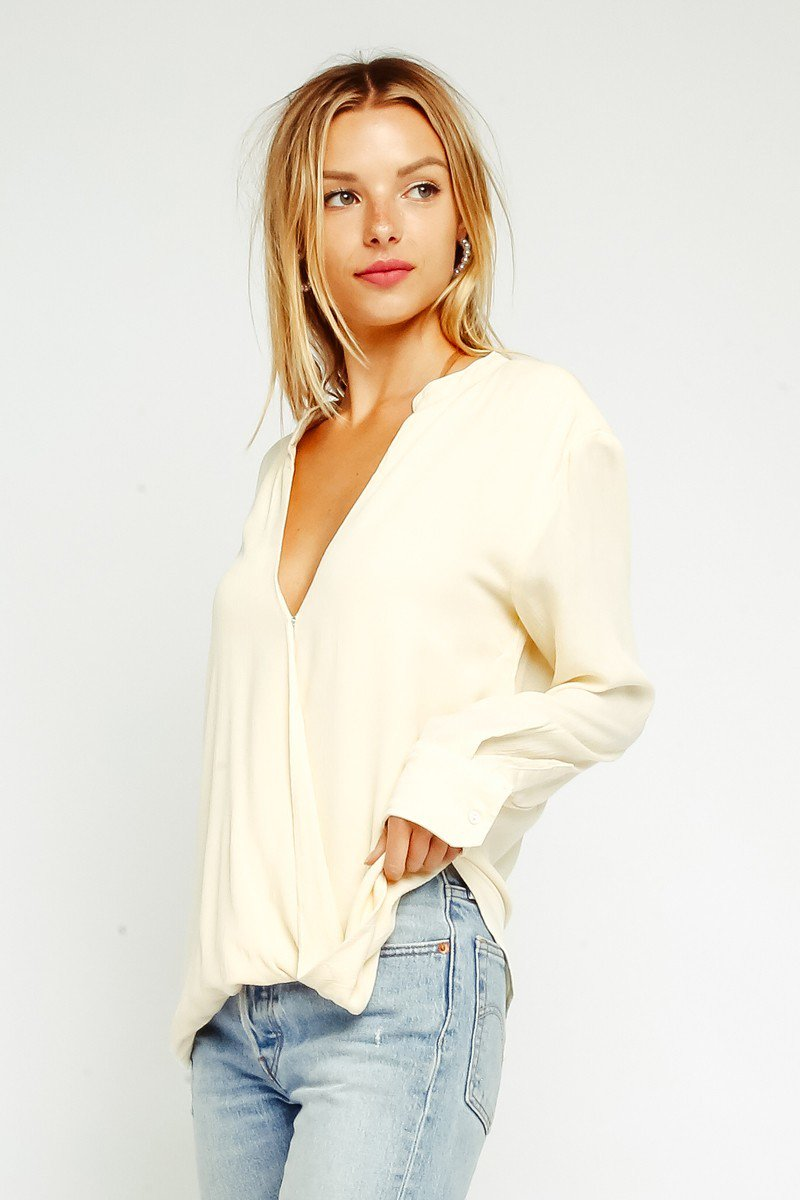 Sultry Silk Blouse