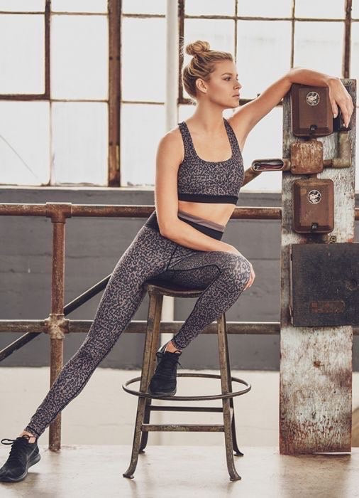 Athletic Leopard Leggings