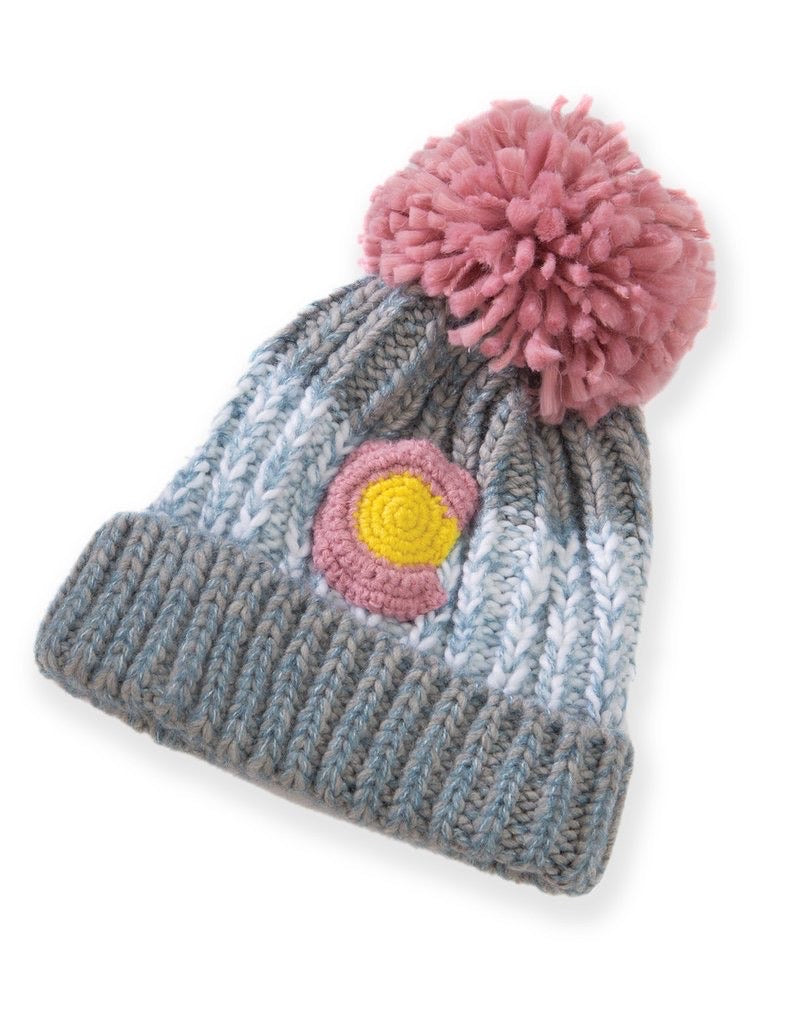 Colorado Knit Popcorn Beanie