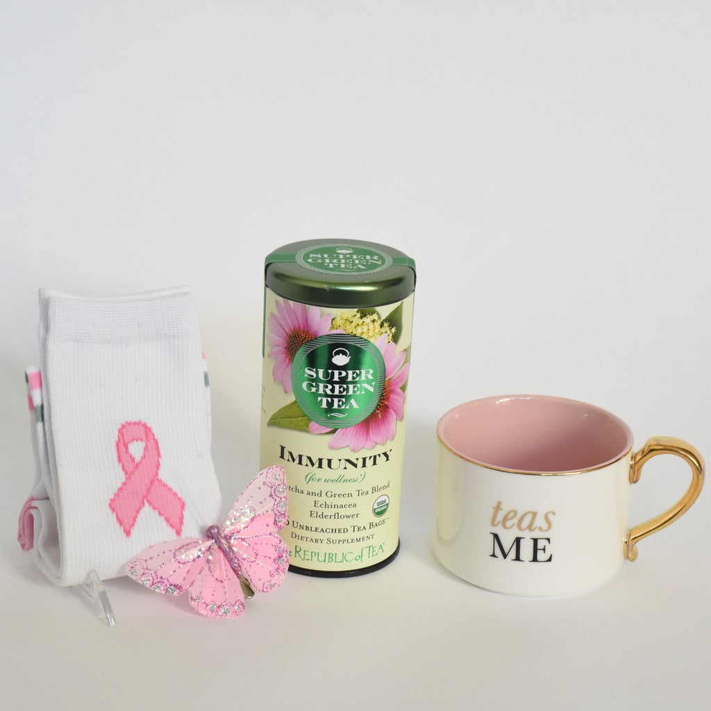 gift for women breast cancer awareness month petite detail