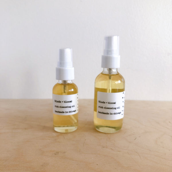 rich cleansing oil