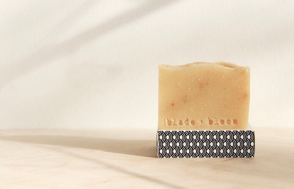 rich cleansing bar/ brighter than sunshine