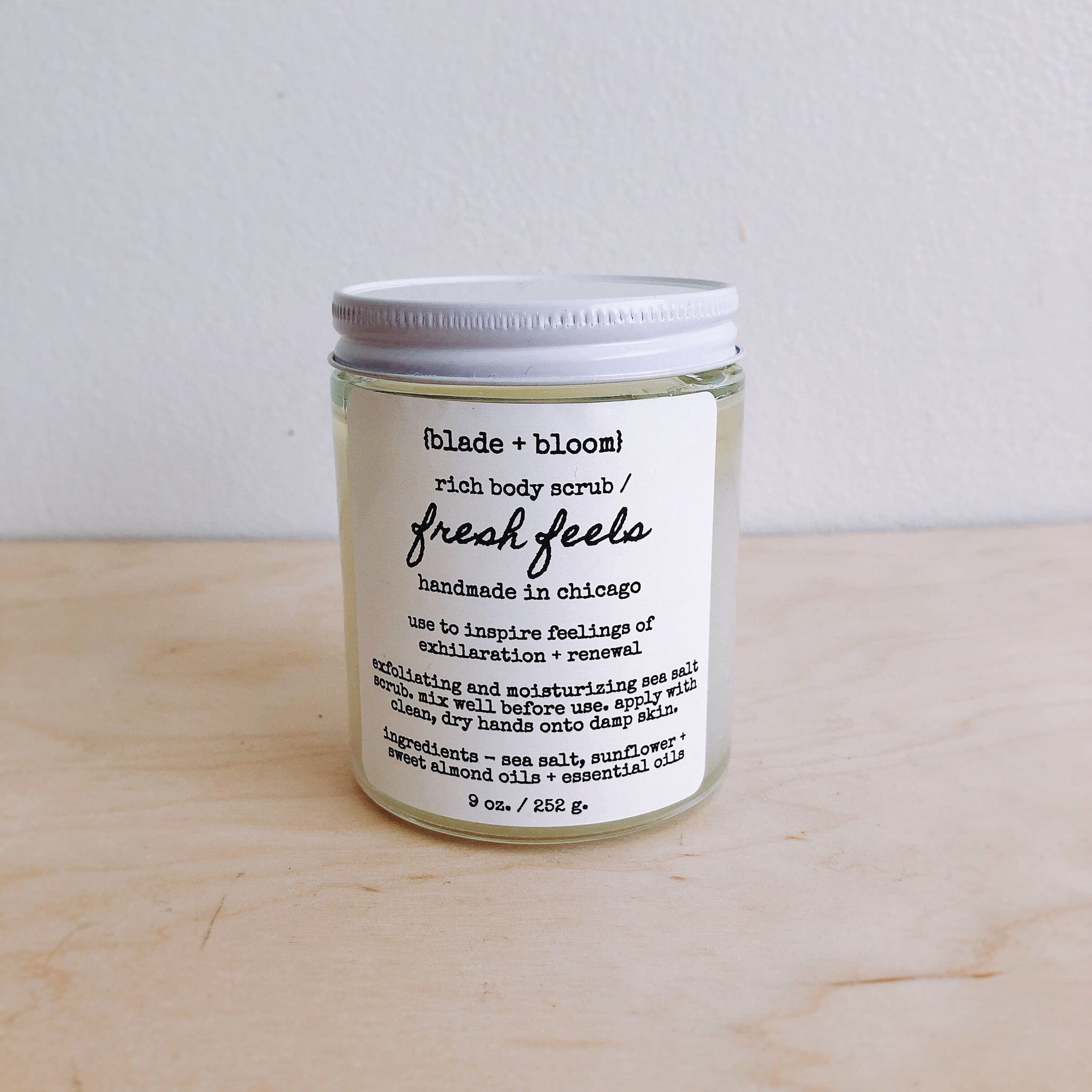 rich body scrub / fresh feels