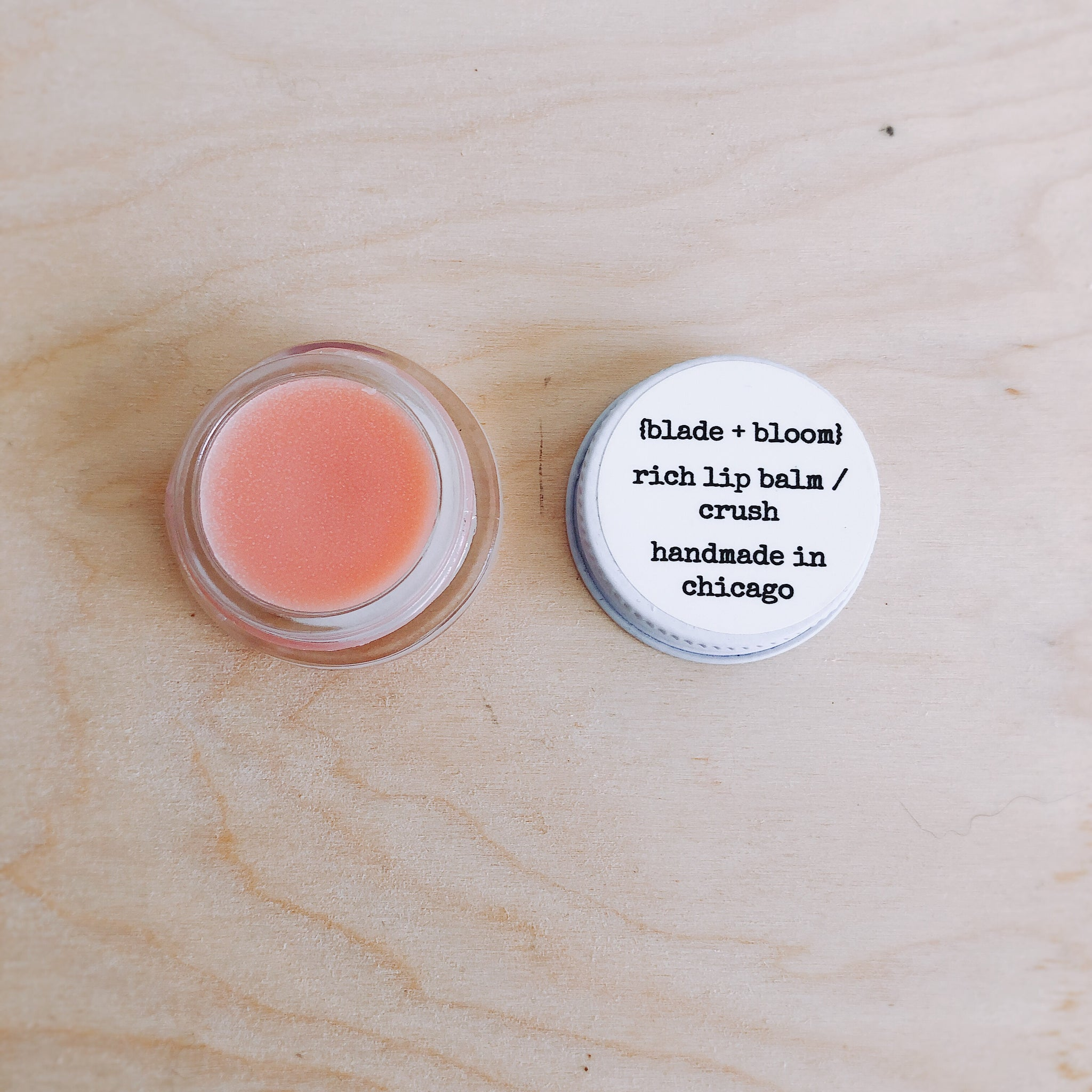 rich lip balm / crush