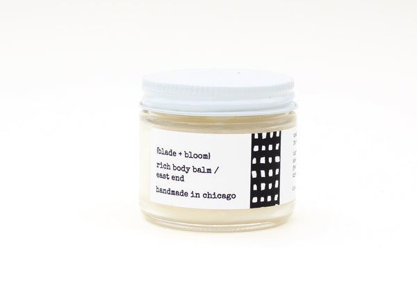 rich body balm / east end, 2 oz.