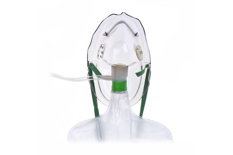 Nonrebreathing Oxygen Mask with Safety Vent