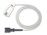 Disposable Pulse Ox Ear Sensor, Adult, 3 ft.