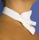 Two-Piece Trach Tube Holder - Bariatric Adult