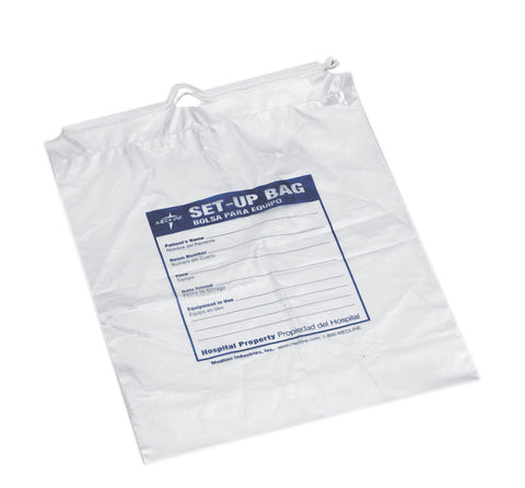 Respiratory Patient Drawstring Set-Up Bag