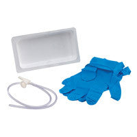 Argyle™ Graduated Suction Catheter Tray with Chimney Valve - 12Fr, 4.0mm