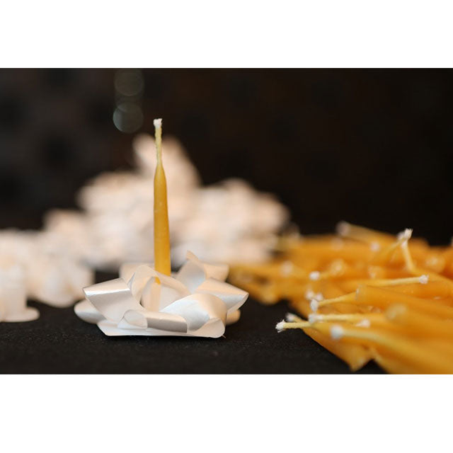 How Beeswax Candles Clear the Air