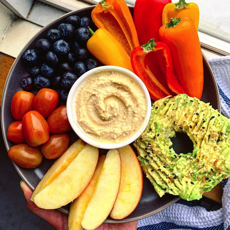Healthy Snack Plate
