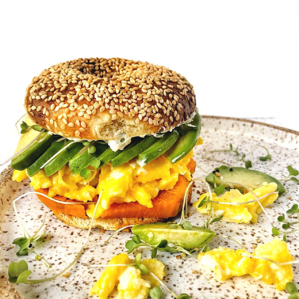 Sweet Potato Egg Sandwich