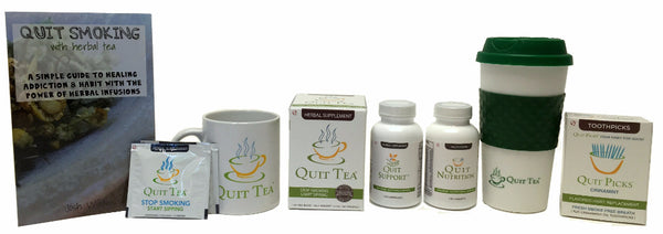 Quit Co Natural Quit Smoking Aid Product Line Up