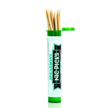 NicPicks Spearmint Nicotine Toothpicks To Help Quit Smoking