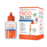 NicoBloc Quit Smoking Aid Bottle and Box