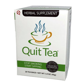 Quit Tea Natural Stop Smoking Tea Box