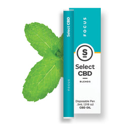 Select CBD Vape Pen Spearmint Focus To Quit Smoking