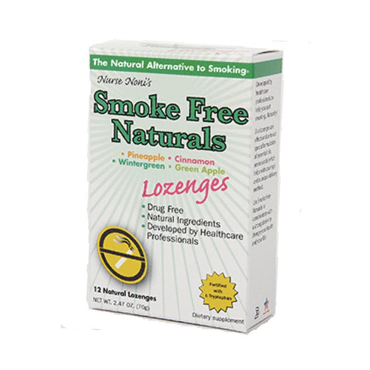 Smoke Free Natural Lozenges Box