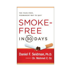 Smoke Free in 30 Days Book by Dr. Daniel Seidman