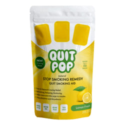 Quit Pop Natural Stop Smoking Remedy Lemon
