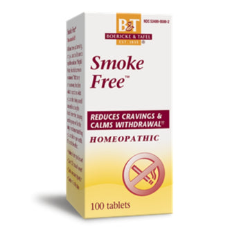 Smoke Free Homeopathic Tablets Reduces Cravings